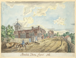 Kentish Town chapel, 1763
